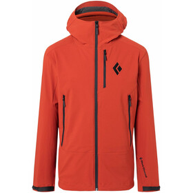 Black Diamond Dawn Patrol Shell Jacket Men red rock